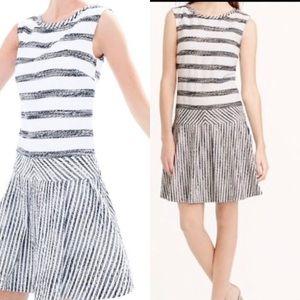 NWOT RARE/HTF J. Crew Tweed drop waist dress, 4